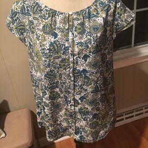 Loft printed shirt